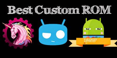 Instal Cutom ROM untuk optimalkan Smartphone Android