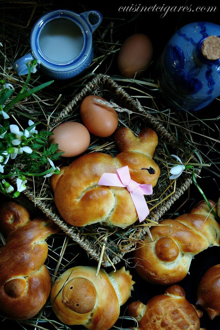 Mes petits Animaux de Pâques briochés