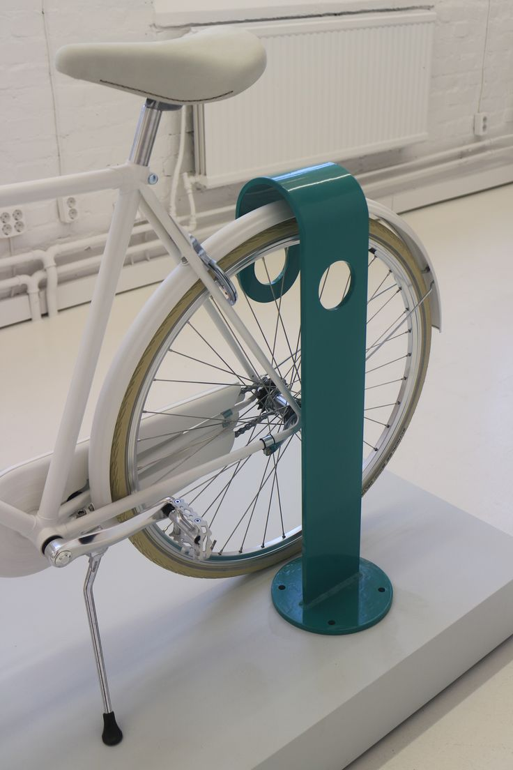 Hook bike stand by Note Design Studio (Stockholm)
