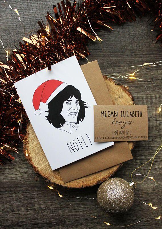 Noel Fielding Christmas Card