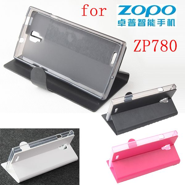 ZOPO ZP780 case cover, Good Quality Leather Case + hard Back cover For ZOPO ZP 780 cellphone #Affiliate
