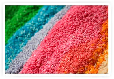 zelf rijst kleuren en ermee spelen tutorial
