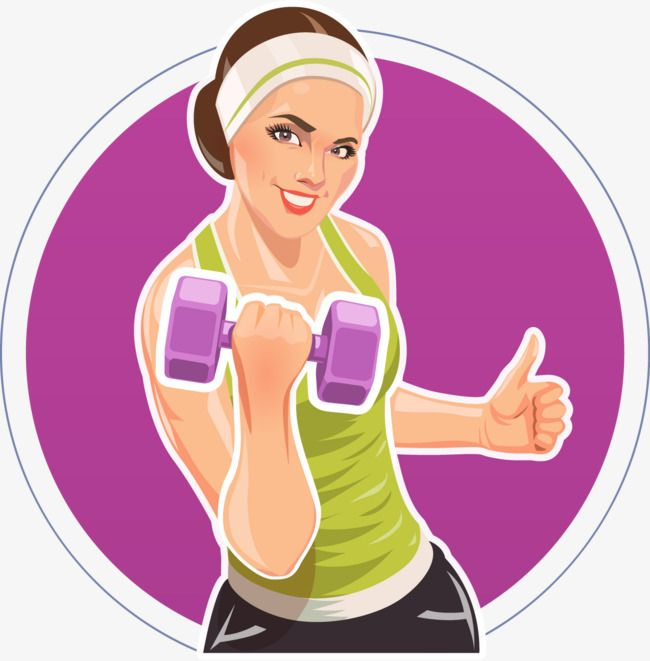 Female Fitness Daren Fitness Vector Decoration Vector Png Transparent Clipart Image And Psd File For Free Download Clip Art Fit Women Illustration Girl