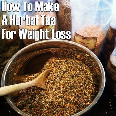 How+To+Make+A+Herbal+Tea+Blend+for+Weight+Loss