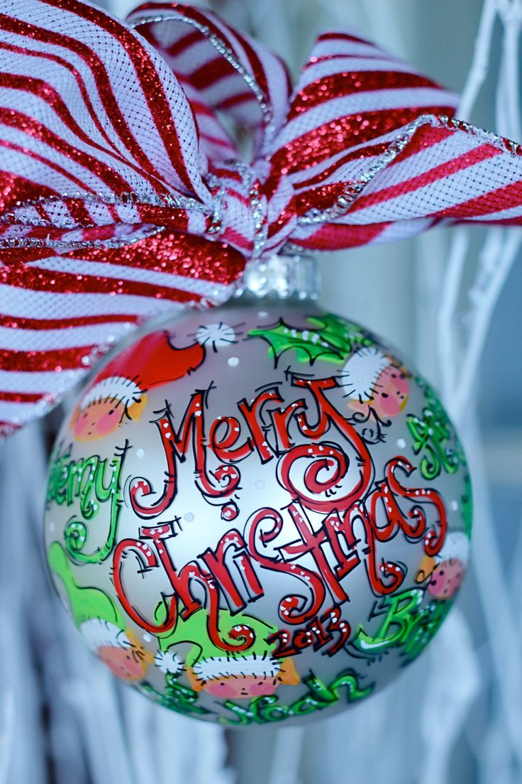 Personalized Christmas Balls Ornaments