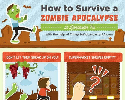 11 astuces pour survivre à une attaque de zombies ?
