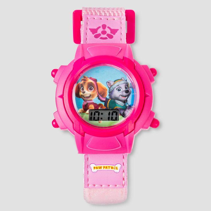 Kids Paw Patrol Digital Watch - Pink, Girl's