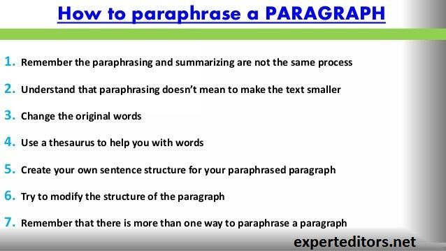Get Excellent Paraphrasing Service To Avoid Plagiarism Accusation You Won T Need Rewrite Your Paper We Will Do It Fo Sentence Structure Word Sentences Paraphrase Don Plagiarize