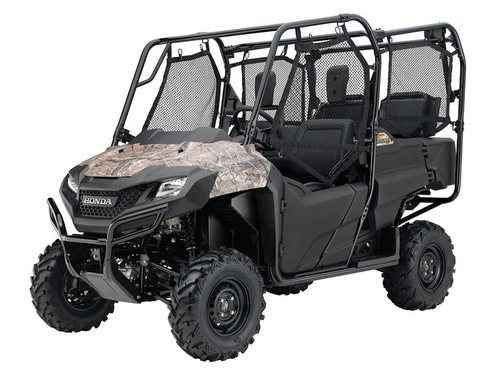 New 2016 Honda Pioneer 700-4 Camo ATVs For Sale in Alabama. 2016 Honda Pioneer 700-4 Camo, Innovations And Features That Match Your Needs: Americans appreciate versatility. Give us a multi-tool and a little baling wire, and we can fix just about anything. That s the spirit behind Honda s Pioneer 700-4, the most versatile side-by-side on the planet. It ll take you just about anywhere a side-by-side can go along with one, two or three other passengers or a bed full of cargo. You re going to…