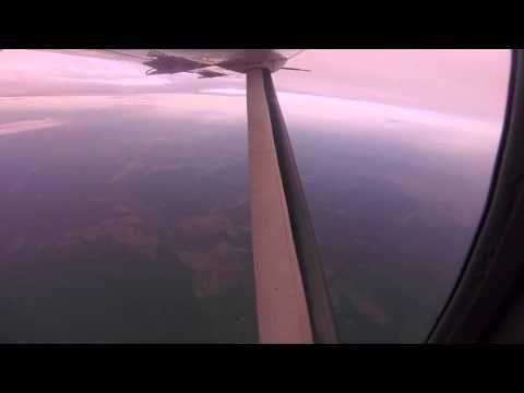LaCostena flight Managua to Puerto Cabezas - YouTube