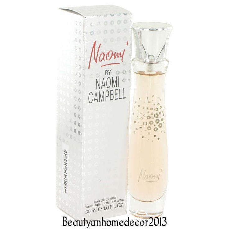 Naomi by Naomi Campbell 1 oz / 30 ml EDT Spray Perfume for Women New in Box #NaomiCampbell