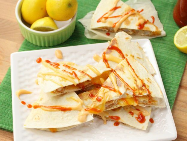 Firecracker Shrimp Quesadillas | 10 Succulent Mexican Shrimp Recipes | These Are Easy, Classic, Delicious And So Perfect For Dinner by Homemade Recipes at http://homemaderecipes.com/10-mexican-shrimp-recipes/
