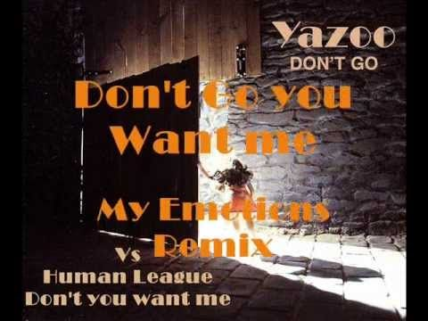 YAZOO VS HUMAN LEAGUE DON'T GO YOU WANT ME - YouTube