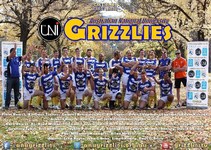 The 2012 Uni Pub ANU Grizzlies | www.anugrizzlies.org.au