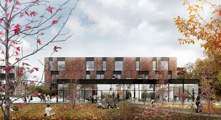 Roskilde Campus is a new educational area for 1500 students within the fields of marketing, IT, and food engineering. The total project is 10.000m2 which includes renovation as well as 4000m2 new build. The new building contains educational areas, cla