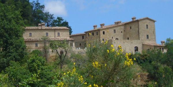 I slept there. Agriturismo Borgo Storico Cisterna, Macerata Feltria (Urbino).  October 2011