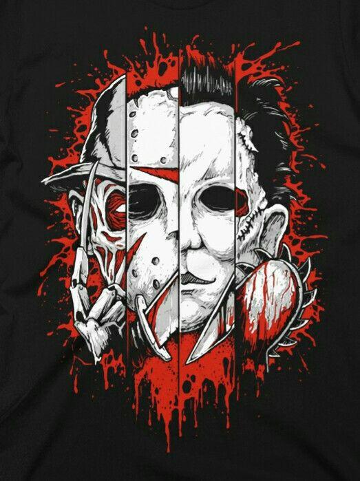 Freddy,Jason,Michael,Tom.
