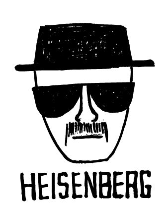 Heisenberg sketch.jpg #breakingbad