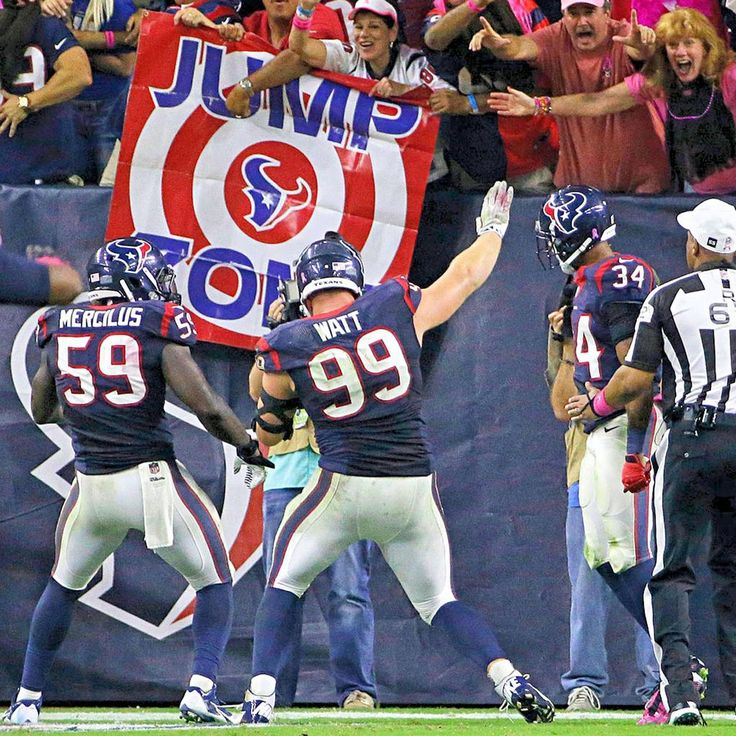 JJ Watt - Taking a fumble to the house! #TheRealMVP