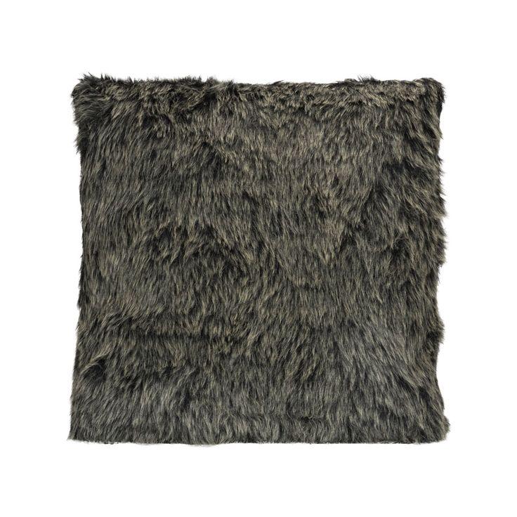 113 best images about wishlist home design on pinterest industrial carry bag and large dresser - Kussen bont grijs ...