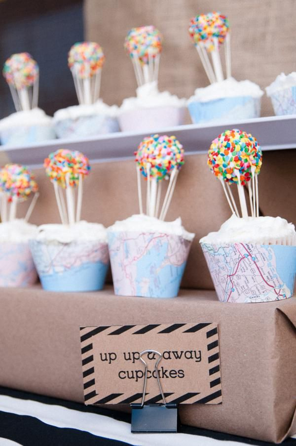 Disney's UP themed birthday party