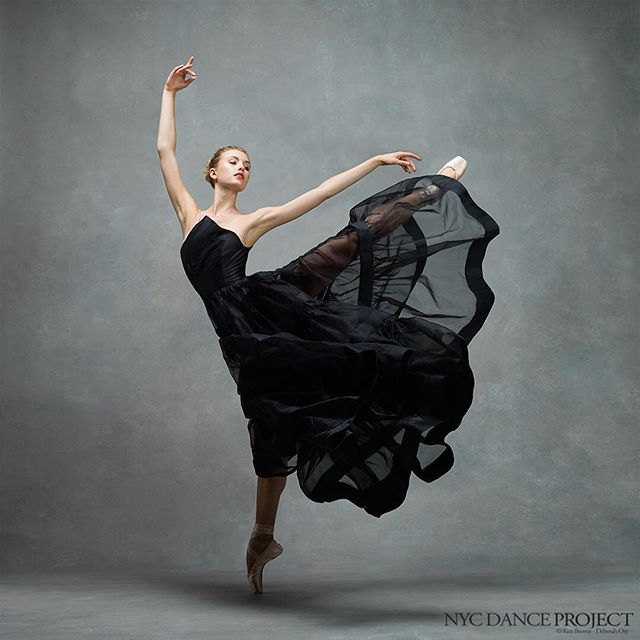 Miriam Miller, New York City Ballet We love this beautiful dress by @leannemarshallofficial. ...