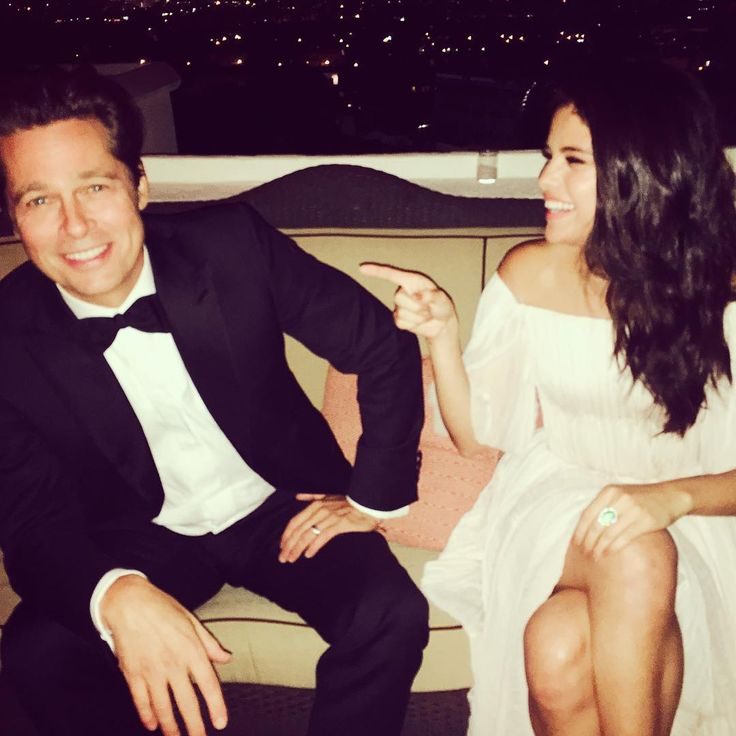@aleenkeshishian: Is it just me or does Brad Pitt... : Selena Gomez News