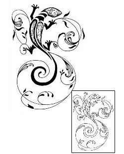 Show details for Lizard Tattoo EGF-00113