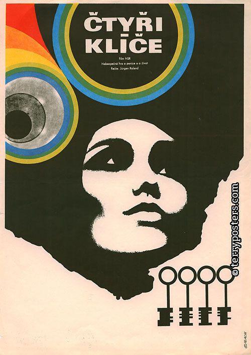 The Four Keys (Jurgen Roland, 1966) Czech design by Zdeněk Vlach