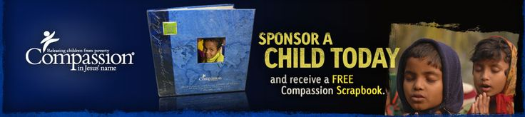 """Sponsor a Child for each child we have. After each of our children turns 1 we could try to find a child with the same birthday. We could help them write back and forth. Our children could send them things.   Matthew 19:14 But Jesus said, """"Let the children alone, and do not hinder them from coming to Me; for the kingdom of heaven belongs to such as these."""""""