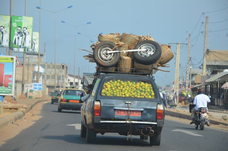 Transport des fruits