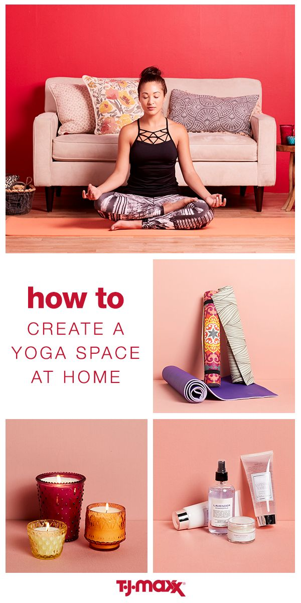 Need a moment of mindfulness? Turn your home into a yoga studio for one and relax any time you need it. Stock up on pretty patterned yoga mats, cozy candles and hydrating beauty products with calming scents. Head to T.J.Maxx and get what you need to create a yoga oasis in your very own home.