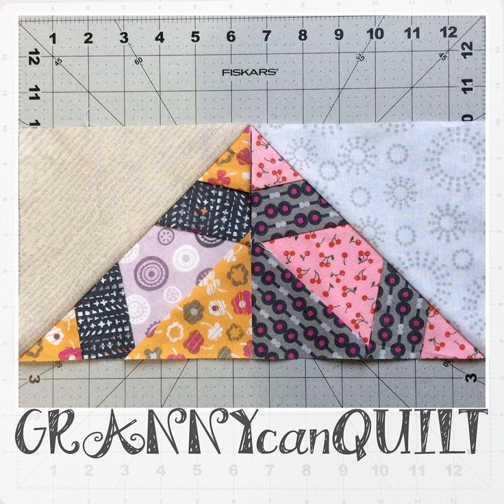 """46 Likes, 2 Comments - Velda Roy (@freckledfoxquiltery) on Instagram: """"#yearofscrappytriangles"""""""