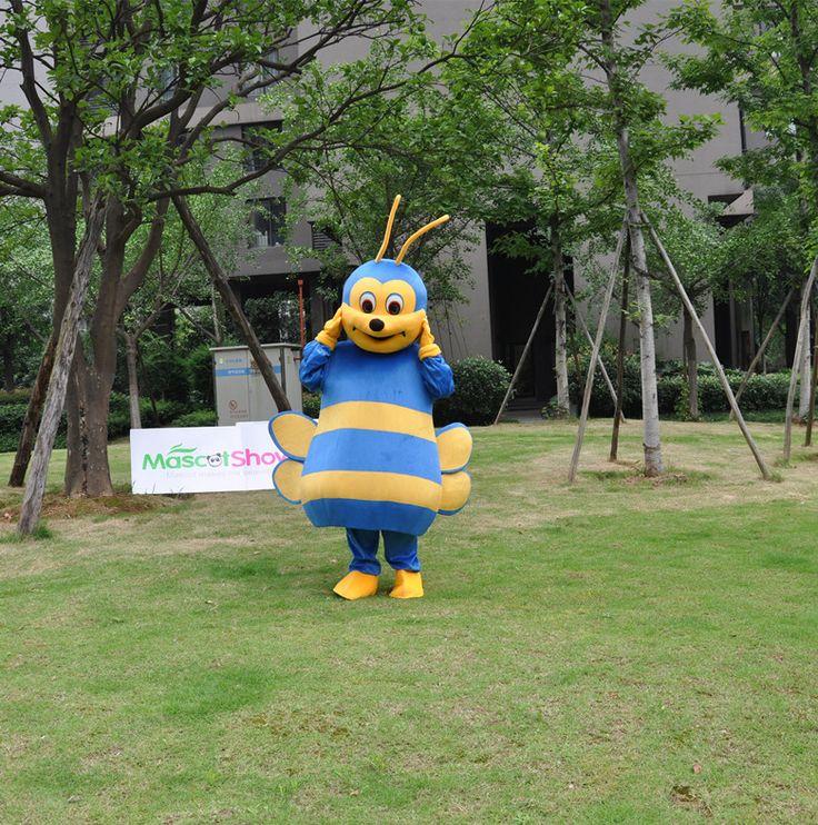 青いミツバチ着ぐるみ ビーの着ぐるみ販売 http://www.mascotshows.jp/product/bee-mascot-adult-costume3.html