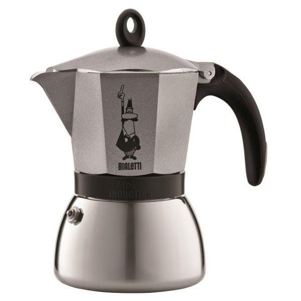 BIALETTI Cafetière italienne 6 tasses - Moka Induction expresso