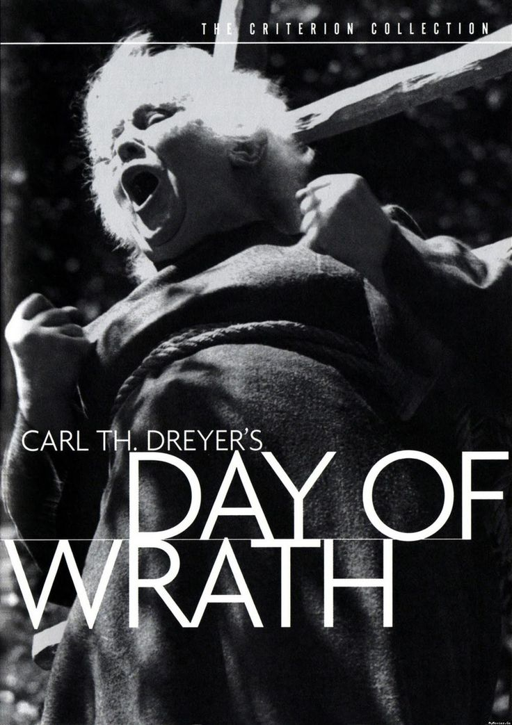 movie posters day of wrath Brilliant Carl theodor