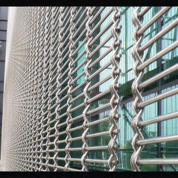 26 best ARCHITECTURAL WIRE MESH FOR FACADE/WALL CLADDING images on ...