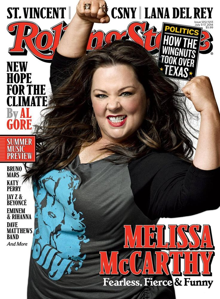 Fearless, fierce and funny... that's our girl #TAMMY! Melissa McCarthy covers Rolling Stone