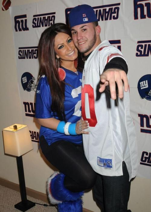 Tracy DiMarco #jerseylicious so cute for next superbowl ideas