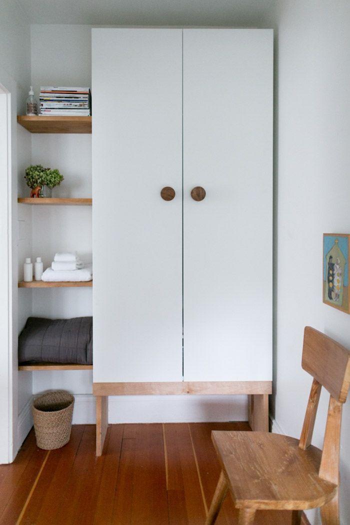 die besten 25 pax t ren ideen auf pinterest begehbarer schrank kleideraufbewahrungssystem. Black Bedroom Furniture Sets. Home Design Ideas