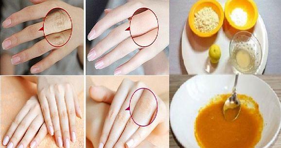 Dit is een geweldig recept ,voor je handen zo dat ze je leeftijd niet  verrader.