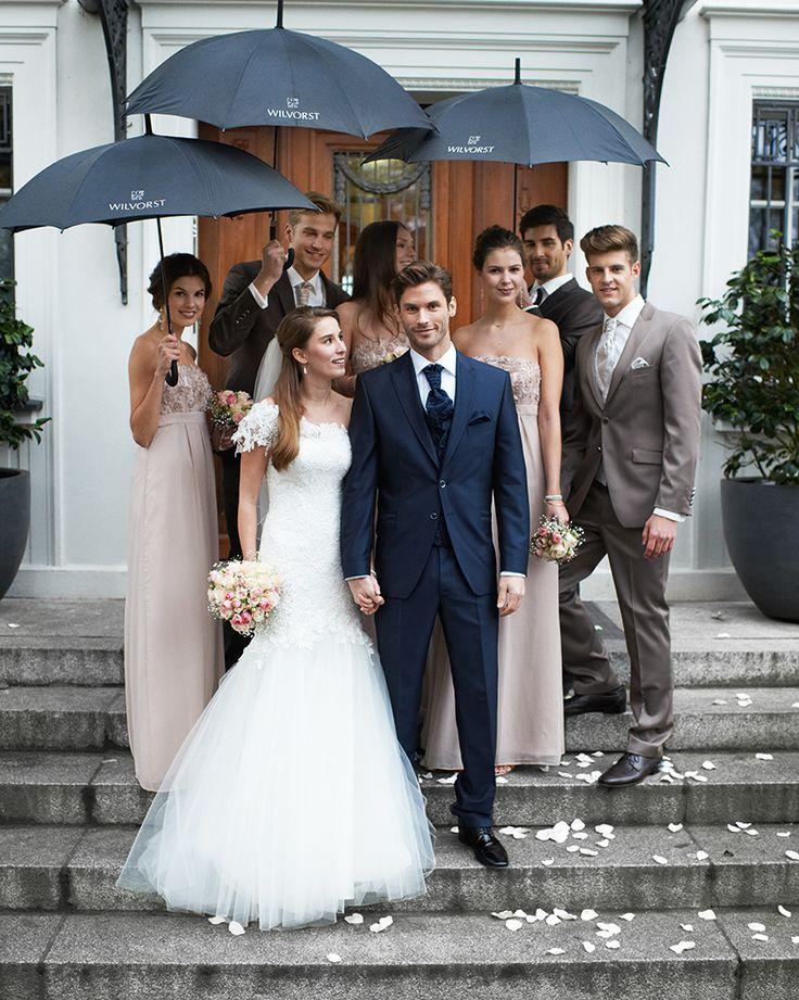 Trotz Regen wunderschöner Hochzeitsmoment #Wilvorst