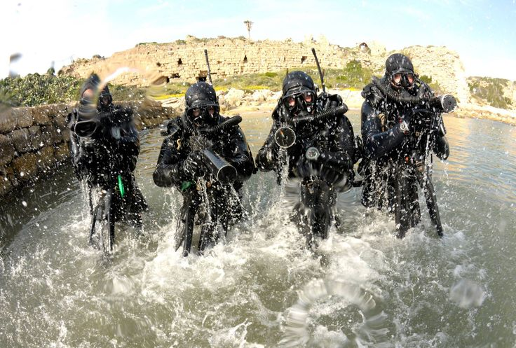 Shayetet 13 - the naval special forces unit of the Israeli Navy