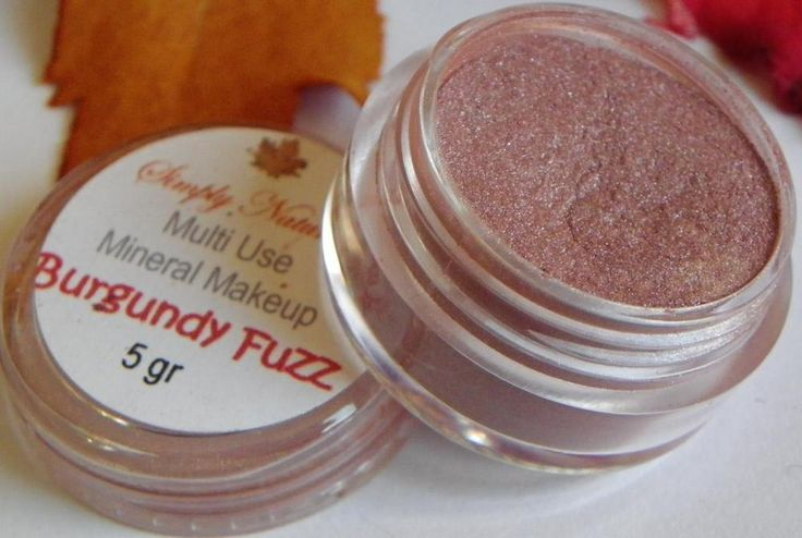 Artistic Bare Pigment Minerals EyeShadow Makeup BURGUNDY FUZZ #SimplyNaturals #MultiPurpose