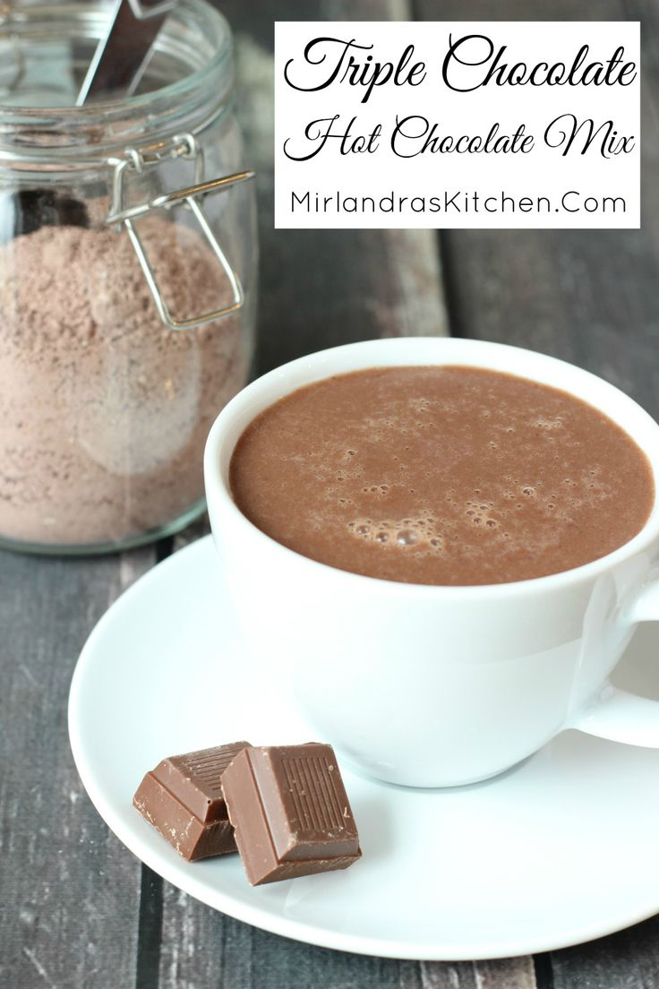 Milk chocolate, white chocolate and Dutch cocoa come together in this classic and decadent hot chocolate mix perfect for every day drinking and gifts. Best of all? You can make an entire batch of mix in six minutes! My secrets of hot chocolate making might surprise you!