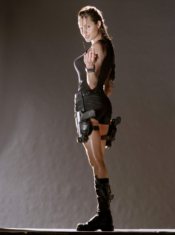 Lara Croft: Tomb Raider. Angelina Jolie does such an amazing job portraying a character who shows strength, intelligence, and is in amazing physical shape. She defies the odds of being a dainty, feminine lead. Her role is simply kick-ass.