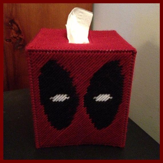 Deadpool Tissue Box Cover