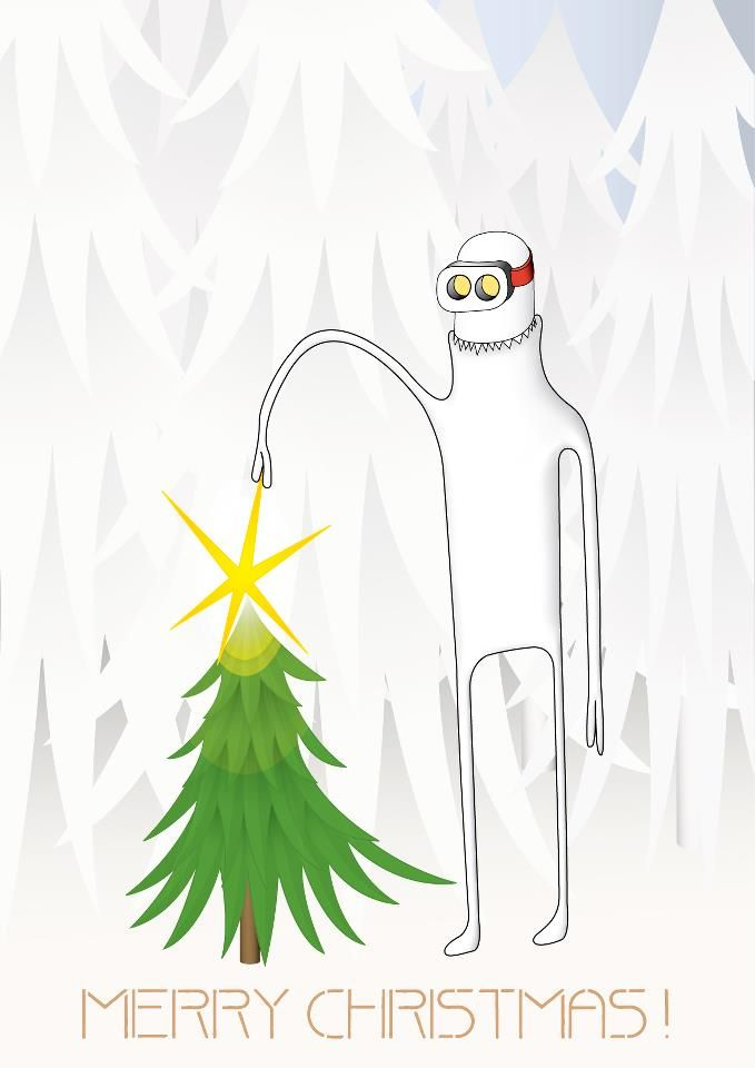 christmas greeting card from Zsolt Budai
