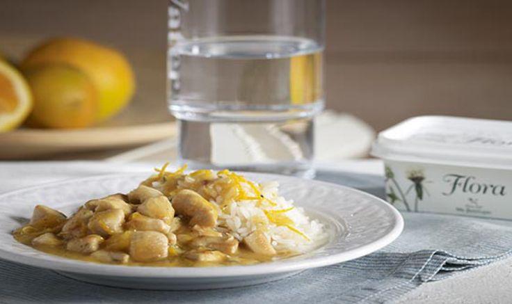 Απολαύστε λαχταριστό Κοτόπουλο με σάλτσα πορτοκάλι με αυτήν τη συνταγή!