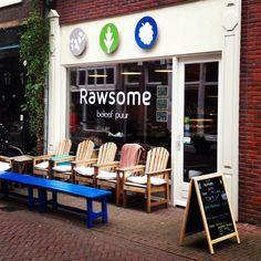 Rawsome, Arnhem, Brouwersplein 7. Ook op zondag open